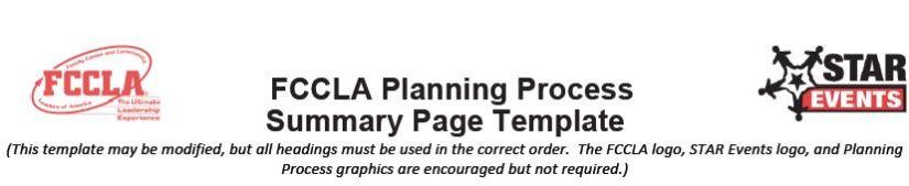 Planning Process 1